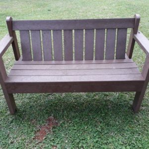 Lavaplastic Recycled Plastic Furniture Double seater bench