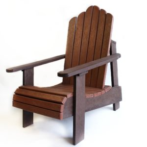 Lava Plastic Recycled Plastic Furniture Durban-Deck Chair Single