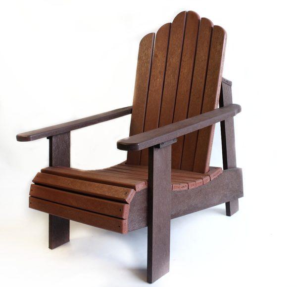 Lava Plastic Recycled Plastic Furniture Durban-Deck Chair Single
