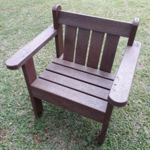Lavaplastic Recycled Plastic Furniture Single Seater Bench